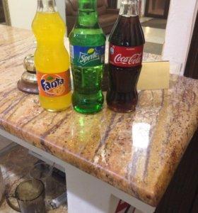 Кока -кола, спрайт, фанта