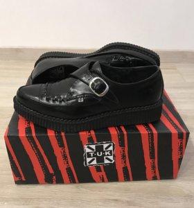 Кожаные ботинки фирмы TUK оригинал
