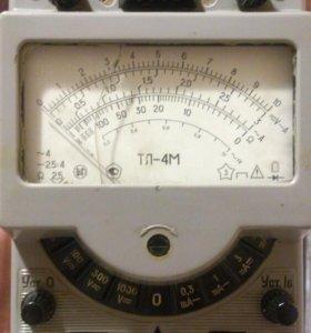 ТЛ-4М советский аналоговый мультиметр