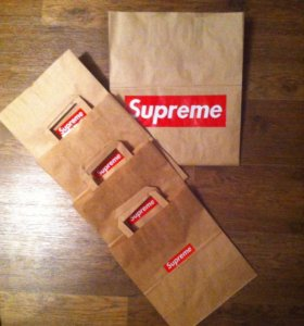 Упаковка ( пакет бумажный. ) supreme