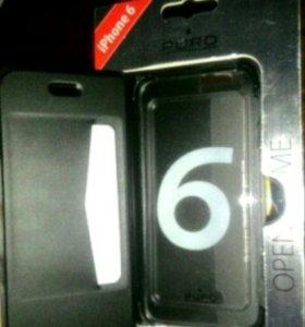 Чехол с визитницей iphone6