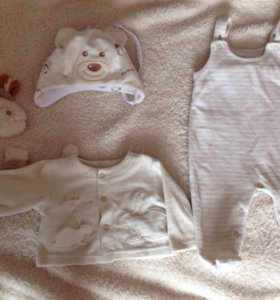 Комплект для малыша 2-3 месяца