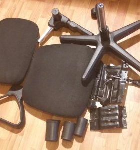 Офисный стул на запчасти.