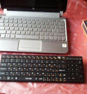 Беспроводная Buetooth клавиатура (Touch Pad)