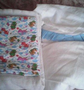 Конверт на выписку простой маленькое одеялко