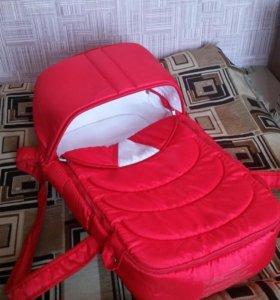 Переноска детская и сумка для мамы