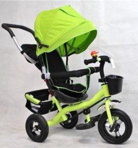 Велосипед детский с капюшоном 9577