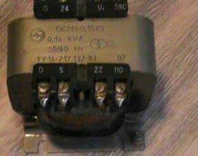 Трансформатор ОСМ1-0,16УЗ