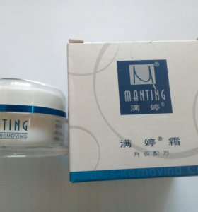 """Крем""""Manting"""" для лечения подкожного клеща и угрей"""