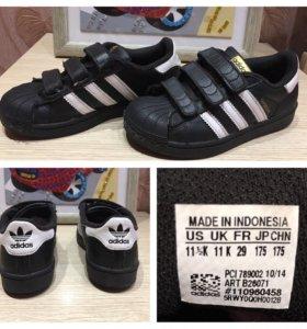 Продам кроссовки Adidas Superstar, 29