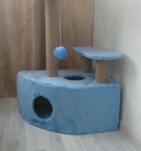 Новый домик-когтеточка для кошки/кота