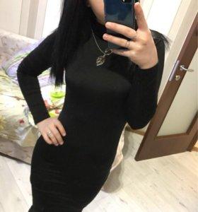 Новое платье черное