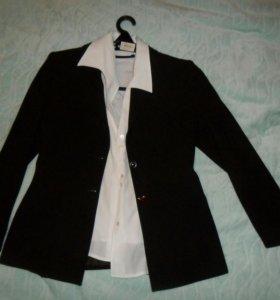 Блузка пиджак