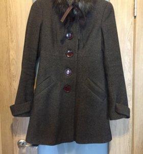 Шерстяное пальто Befree 40-42
