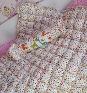 Одеялко-коврик
