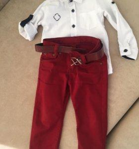 Рубашка и штаны на 3 года