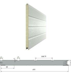 Панели для секционных ворот