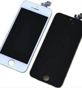 Дисплейные модули на iPhone 5s