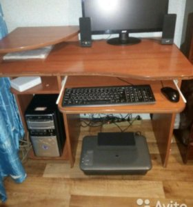 Компьютер в сборе.
