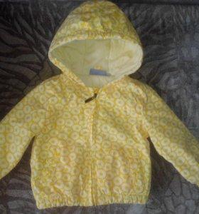 Ветровка курточка babyGo,80 см