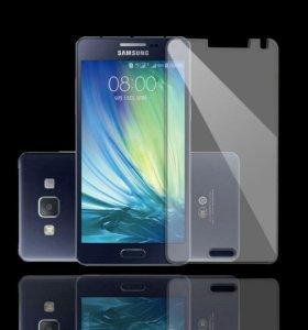 Защитное стекло на Samsung A3