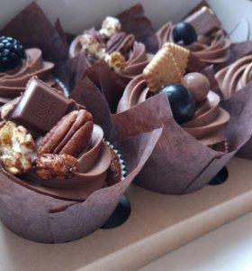 Кексы капкейки пирожные