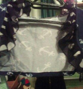 Болеро + юбка с поясом