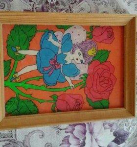 Картины по стеклу