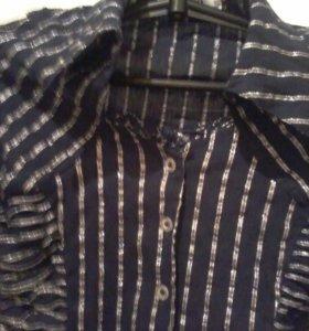 Блузка с люриксом