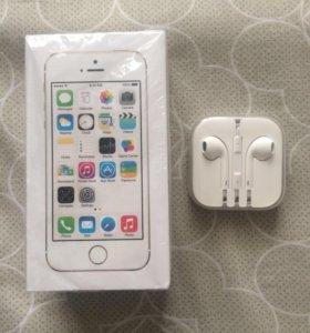 iPhone 5s Gold на 16 gb