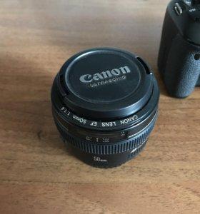 Объектив Canon 1.4 50mm USM