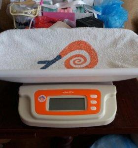 Весы для новорожденного Mebby Baby