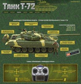 Модель танка Т 72