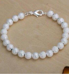 Новый браслет стерлинговое серебро 925