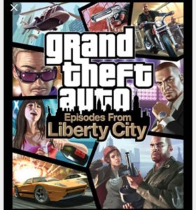 Grand theft auto:Episodes from Liberty City