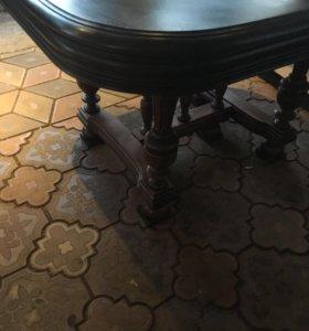 Антикварный стол и 4 стула Европа