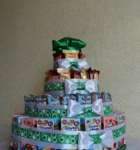 Торт на день рождения ребёнка в детский сад