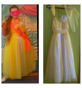 Платье в пол нарядное