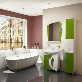 """Мебель в ванную """"Бормио"""" 65"""
