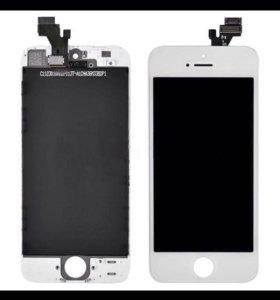 Дисплеи на iPhone 4,4s,5,5s,5c,6,6+