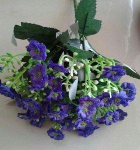 пучок искусственный цветов, 20 см, 100р