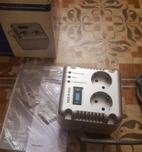 Новый Стабилизатор напряжения sven neo R 600
