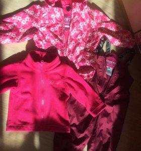 Весенний костюм gusti (густи) для девочки 3в1