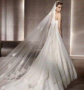Свадебное платье Manuel Mota мод. Marbella + фата