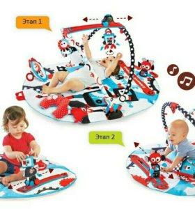 Детский игровой интерактивный коврик