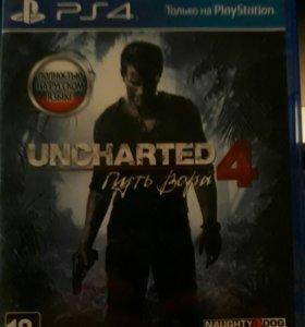 UNCHARTED4 игра ps4