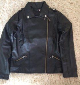 Куртка кожаная подростковая 14 лет