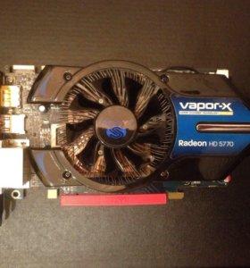 Видеокарта Sapphire Radeon HD 5770 vapor-X