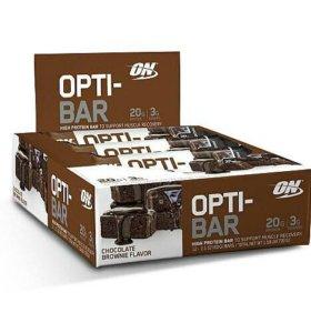 Батончик Opti-Bar 60г (Шоколадный Брауни)