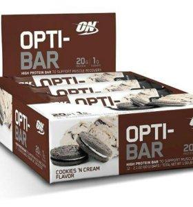 Батончик Opti-Bar 60г (Печенье с Кремом)